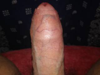 After a nice shower and still feeling horny