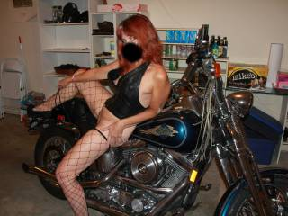 After several nice compliments from bighardon71 and a request for more bike pics, here you go. I LOVE this machine, it\'s my favorite vibrator. I love the wind in my hair and the way it makes my pussy tingle. I\'s simply orgasmic to ride.