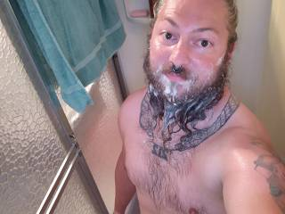Getting clean so I can get dirty again. Care to get dirty with me?