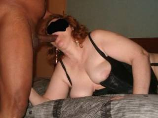 Oh yes you do just wish it was my hard black cock filling your hot mouth with my thick cum mmmmmmm