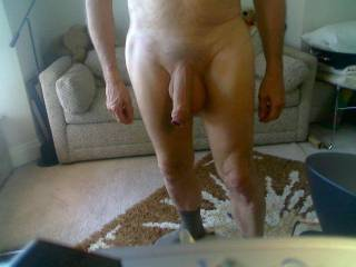 wow, such a lovely uncut cock-would love to stroke that foreskin back and forth for your pleasure