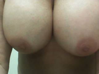 such beautiful tits, they need a nice hard cock between them