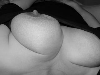 I'd suck your nipples so much that they would be rock hard and your pussy would be so wet
