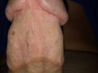 Look at the head of my huge dick