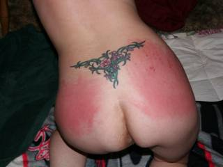 She loves a good spanking while being fucked hard