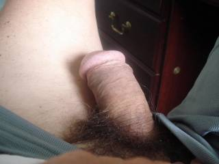 happy to see your dick. your cock seems like mine, a cut cock and not very big unfortunately. often, women says that I have a small dick and you