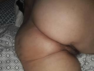 "Wife\'s hot ass, would you like to participate in an evening of tag teaming my wife. I\'m looking for a clean, clean cut gentleman/ stud with an 8"" to 12"" cock. Along with me and another lady. P/M me, and tell me why it should be you, and for more details."
