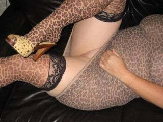 nice thick heels something to hold on to as I hold your legs wide open
