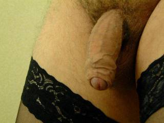 Yes it is and it looks like it wants me to put my mouth around it and start sucking.  This is a sexy cock picture.  I'd like to swallow it.  MILF K