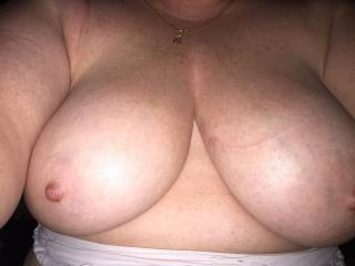 Love to suck on her beautiful tits mmmm