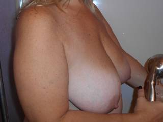 Wife.... Big Natural Breasts