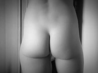 My wife's naked ass