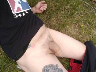 ...just got horny outdoors so...