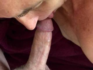 Felt amazing. Can't decide what I like better - fucking her or having my dick sucked...
