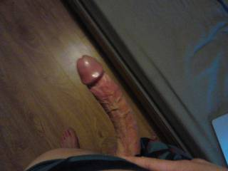 Really big and so desirable!!! My pussy gets moist just thinking of your hard dick stretching all the holes of my body...