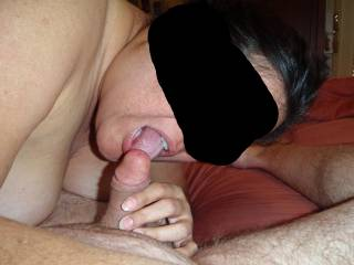 Like i want suck your hubbys cock too :)