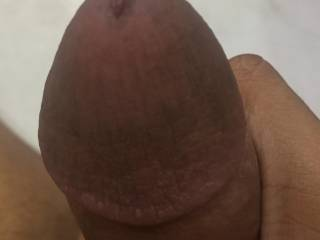 My dick's head close up