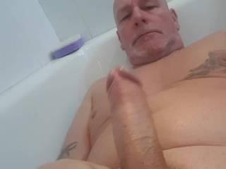 just having fun in the bath