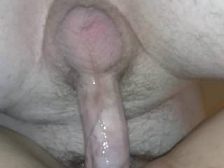 I was so horny from thinking about my mans dick pumping cum in my pussy, I needed him to fuck me and leave a load of his cum in me. It feels so good when he cums in me.