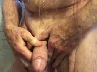 Got horny in the shower.