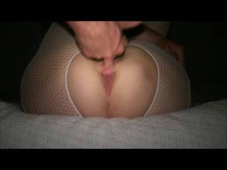 Finger fucking the wife to multiple orgasms