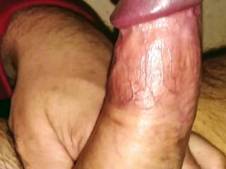 How many wanna feel ALL of his massive cock pounding you doggy-style taking turns with me?? After 15+years he still rips both my little holes EVERY time he pounds me!! 💚