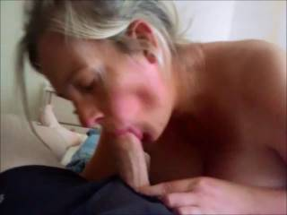 great vid, so pretty ex woman, I would like to be you and so exciting the way she sucks you and she takes your nice cock with two fingers
