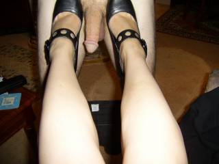 SO WOULD ANYONE ELSE, WHOSE COCK YOU PUT BETWEEN YOUR HEELS....