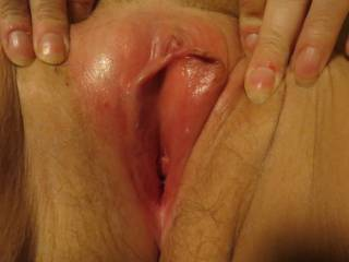 I think I need to suck her clit and tongue fuck her hot wet pussy until she is cumming all over my face.