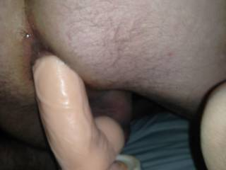 Got a new vibrating dildo and wanted to try it out what do u think ?