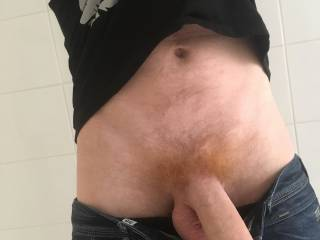 Tell me what you think about my red hairy dick ;)  And if you wanna see more ;)
