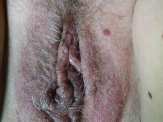 Wet gaping pussys