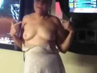 Slut dress no panties