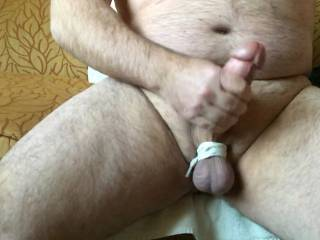 Me jerking off. Anybody want to help?