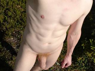 Just me naked in forest. Flashing outdoor. #Natureal