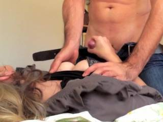 Part 1: Julie is getting me ready to fuck her..