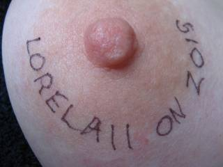 A little nipple decoration