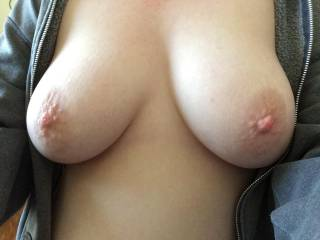 My gorgeous set of tits. Looking for fun with locals in the area
