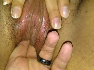 fingering the wife