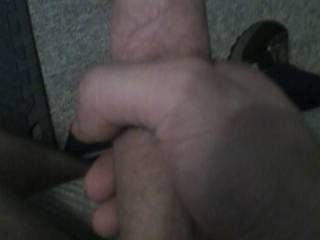 me stroking my dick anyone want to help ?