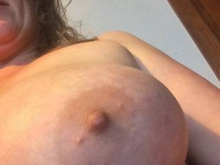 My girlfriend\'s big boobs