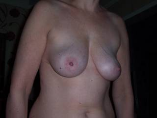 She has beautiful tits. Would she let me fuck them and cover them in cum?