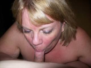 Who doesn\'t love getting their cocks sucked by another man\'s wife as he watches?  Mrs Daytonohfun blowing me recently before I fucked her in front of her hubby