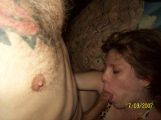 Getting some ATM! My girl loves to suck the cock!