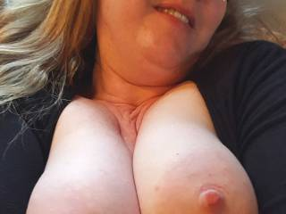 Can you think of something fun to do with these big milk filled breasts?