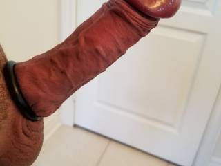 The cock ring just makes the head explode... rock hard