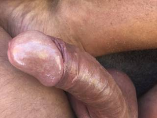 My dick with pussyjuice