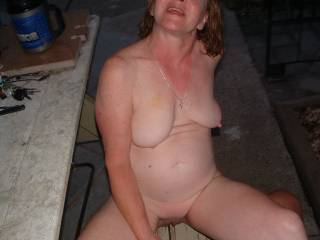 Fresh outta the pool and ready to fuck in full view of the neighbors. Would you like to be our neighbor? That night, she would have let anyone fuck her if you would have been there at the moment. Normally she is pretty shy.