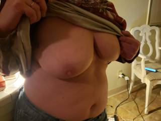 Would you like to cum my tits?
