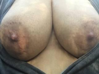 Do you like my tits outdoors?